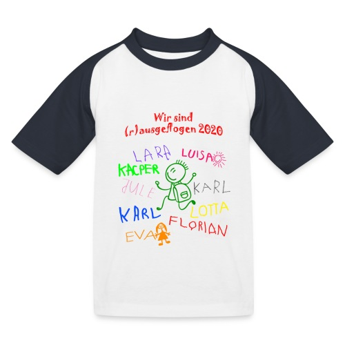 Abschluss kita 2020 - Kinder Baseball T-Shirt