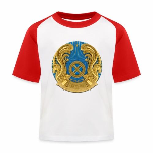 Kasachstan Казахстан Герб Wappen T-Shirts 2c - Kinder Baseball T-Shirt