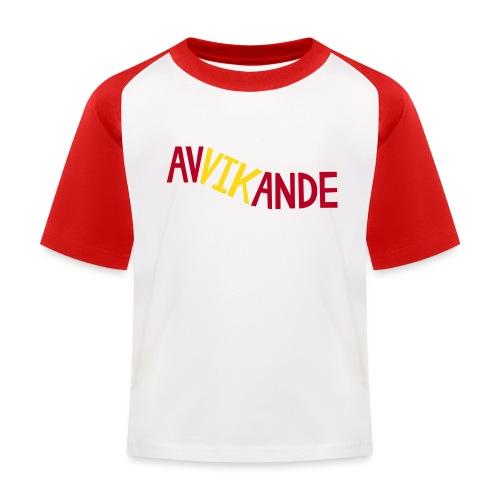 AVVIKANDE - Baseboll-T-shirt barn