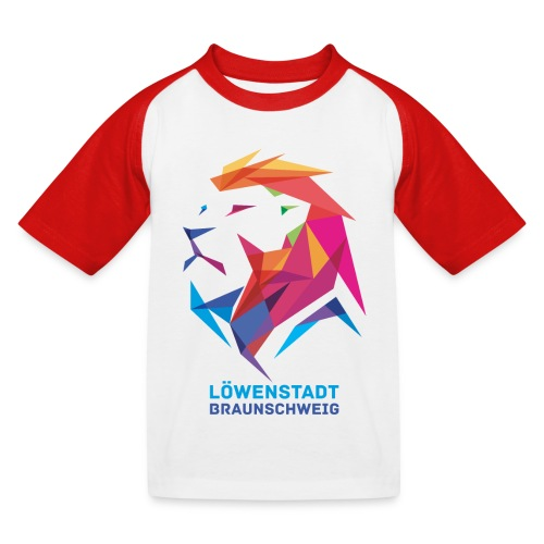 Löwenstadt Design 7 - Kinder Baseball T-Shirt