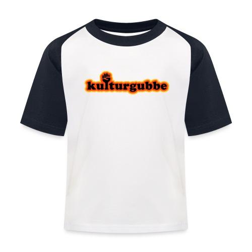 KULTURGUBBE - Baseboll-T-shirt barn