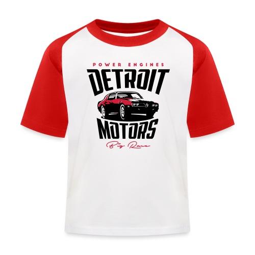 Detriot Motors - Camiseta béisbol niño