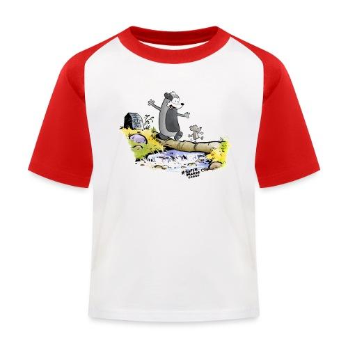 Summer Vibes! - Baseball-T-skjorte for barn