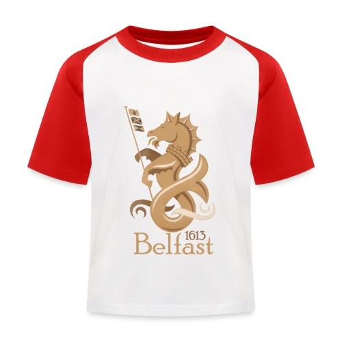 Belfast 1613 Seahorse - Kids' Baseball T-Shirt