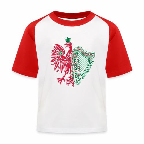 The Polish Irish - Kids' Baseball T-Shirt