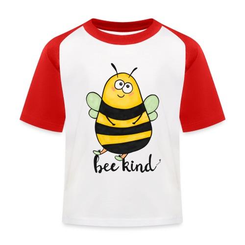 Bee kid - Kids' Baseball T-Shirt
