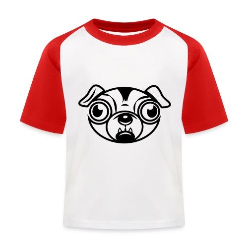 Mops - Kinder Baseball T-Shirt