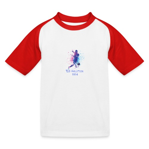 TuS Holstein Fußball - Kinder Baseball T-Shirt