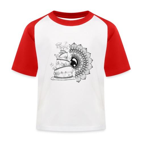 TortaMandala - Maglietta da baseball per bambini