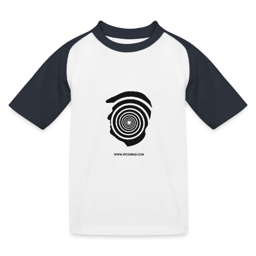 J. P. Conrad Head - Kinder Baseball T-Shirt