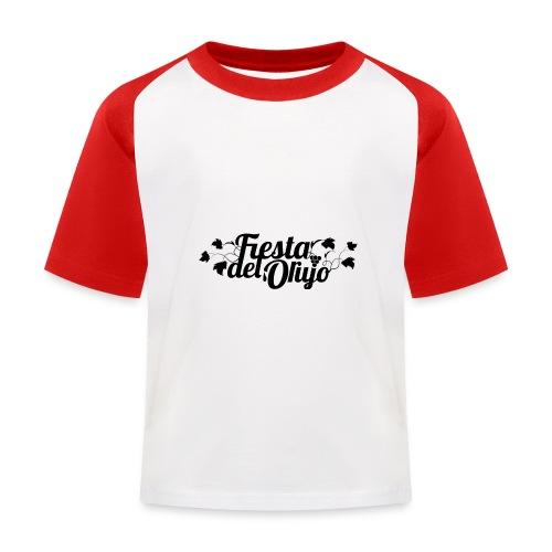 Fiesta del Orujo - Camiseta béisbol niño