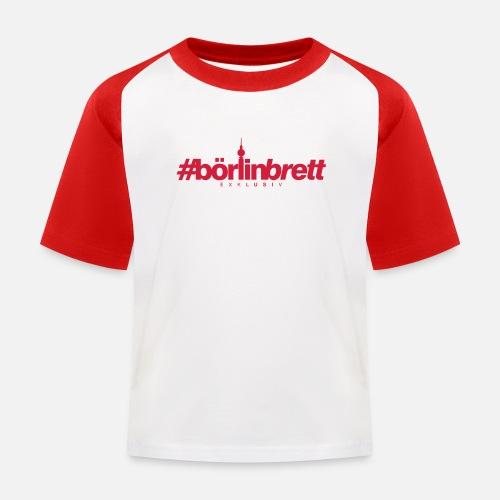 börlinbrett - Kinder Baseball T-Shirt