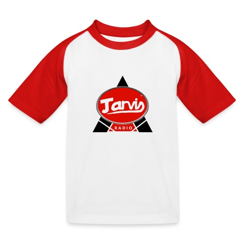 Jarvis Radio Logo - Kids' Baseball T-Shirt