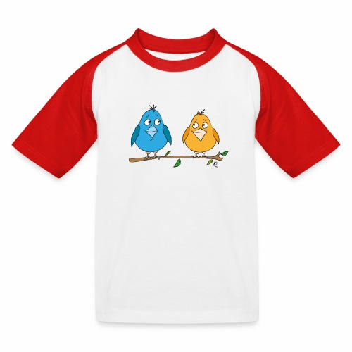Birds - Kinder Baseball T-Shirt