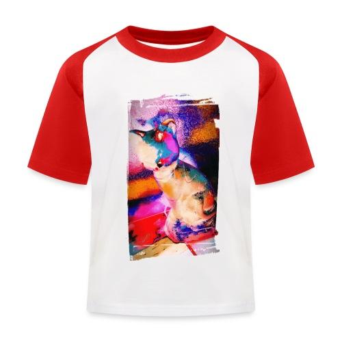 Toop Toop t-shirt katoen | kinderen 3-8 | Kunstkat - Kinderen baseball T-shirt
