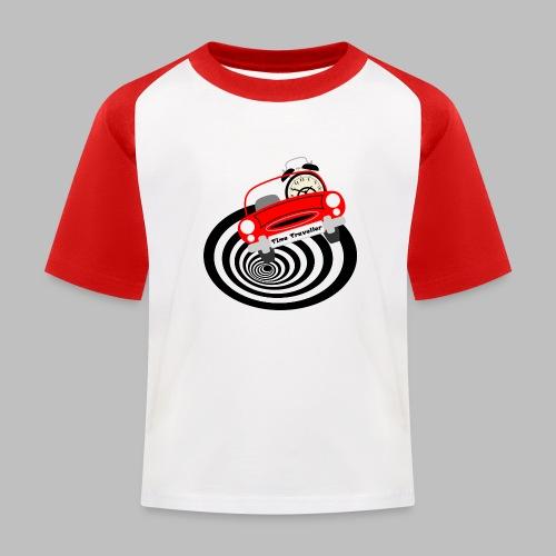 Time Traveller - Kids' Baseball T-Shirt