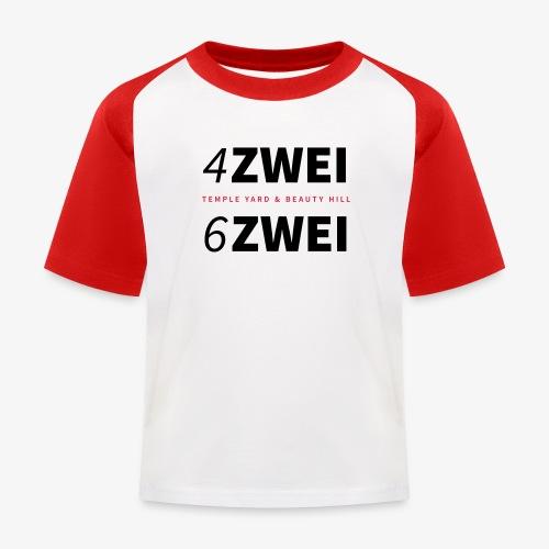 4ZWEI 6ZWEI BERLIN - Kinder Baseball T-Shirt