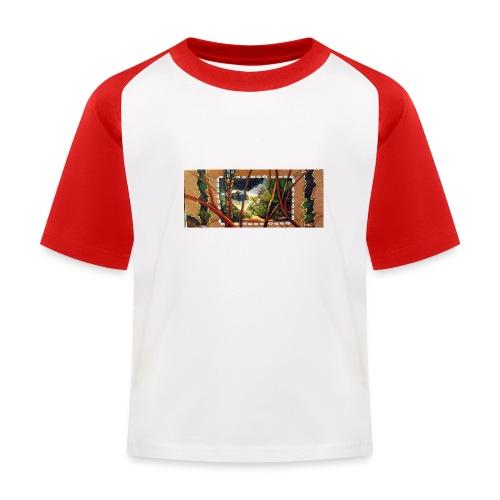 Deep Mint Insight Men's T- Shirt - Kids' Baseball T-Shirt