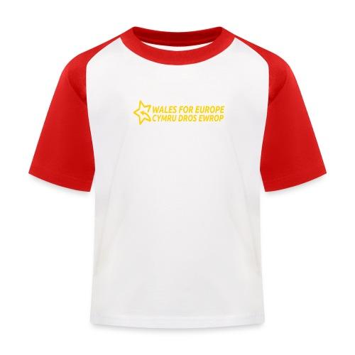 Peoples Vote Remain in EU - Lasten pesäpallo  -t-paita
