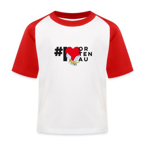 Robby loves Ortenau - Kinder Baseball T-Shirt