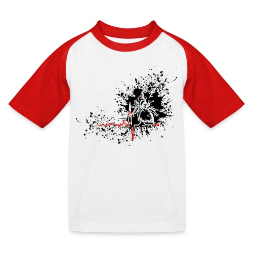Trash polka ECG - T-shirt baseball Enfant