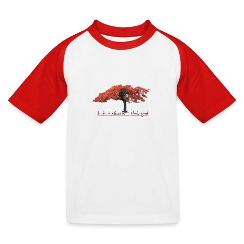 Flamboyant - T-shirt baseball Enfant
