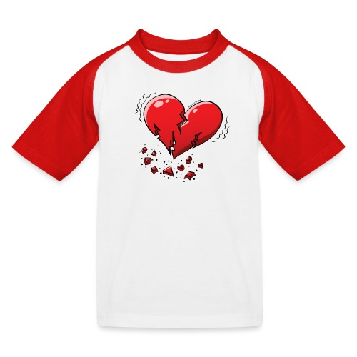 Heartquake - Kids' Baseball T-Shirt