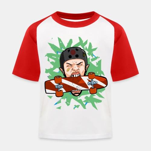 Skate 6 - Camiseta béisbol niño