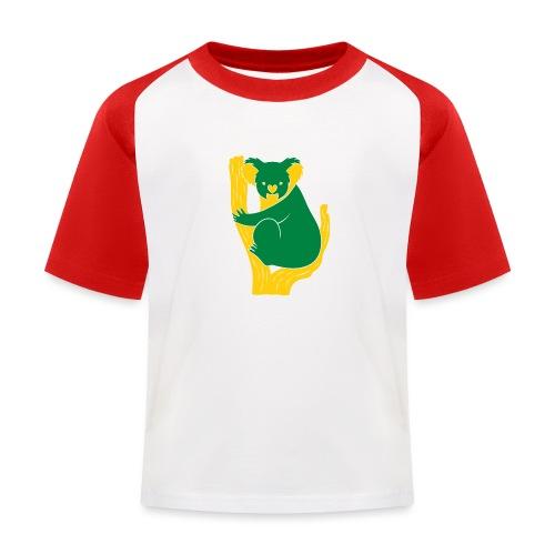 koala tree - Kids' Baseball T-Shirt