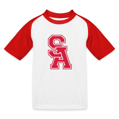 LaSportive_US_Front - T-shirt baseball Enfant