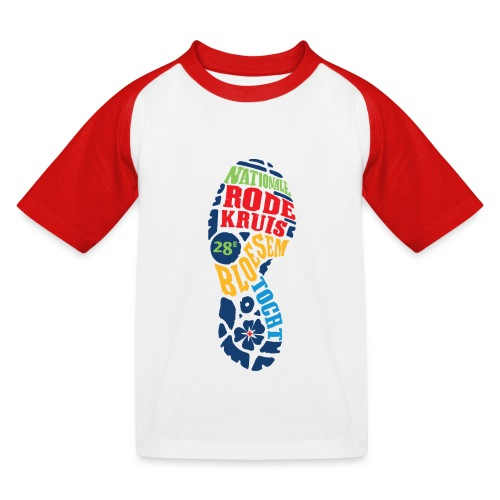 28e Bloesemtocht - Kinderen baseball T-shirt