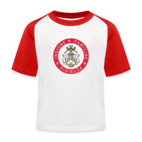 petridis wappen rundsatz_ - Kinder Baseball T-Shirt