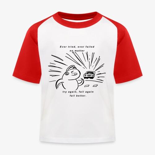 mikalushirt - Kinder Baseball T-Shirt