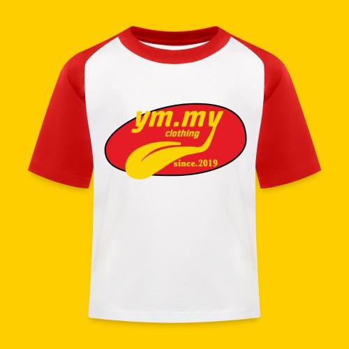YM.MY clothing LOGO - Kids' Baseball T-Shirt