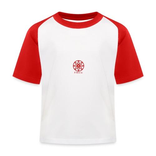 La boule d'atôme en rouge - Kinder Baseball T-Shirt