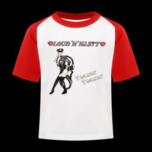 Teaser-Teaser - Baseboll-T-shirt barn