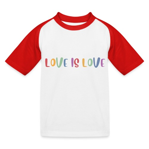 LOVEI is LOVE - Camiseta béisbol niño