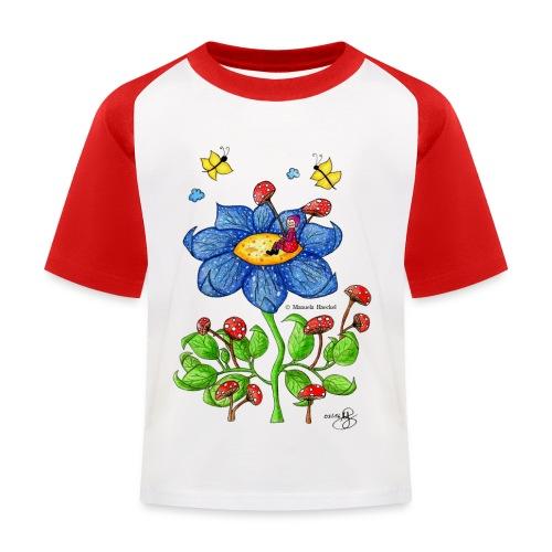 Blumenkind - Kinder Baseball T-Shirt