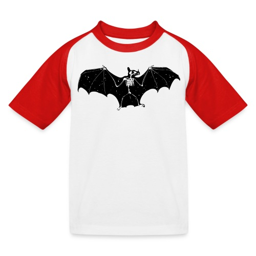 Bat skeleton #1 - Kids' Baseball T-Shirt