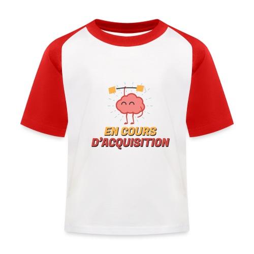 En cours d'acquisition - T-shirt baseball Enfant
