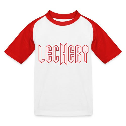 logo backdrop jpg - Kids' Baseball T-Shirt