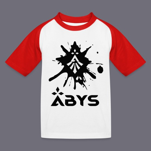 Tache d encre Logos Abys png - T-shirt baseball Enfant