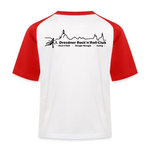 Logo Rock n Roll - Kinder Baseball T-Shirt