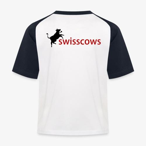 Swisscows - Kinder Baseball T-Shirt