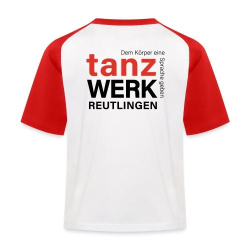 Tanzwerk - Standard - schwarz - Kinder Baseball T-Shirt