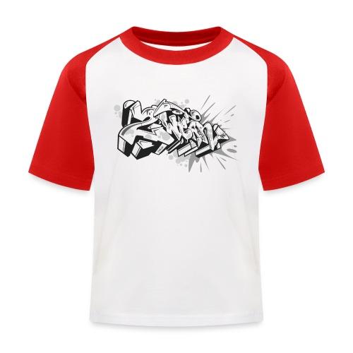 graffiti 2Wear dae120 2tone - Baseball T-shirt til børn