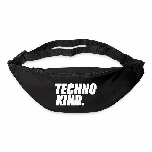 Techno Kind Rave Kultur Berlin Vinyl Progressive - Gürteltasche