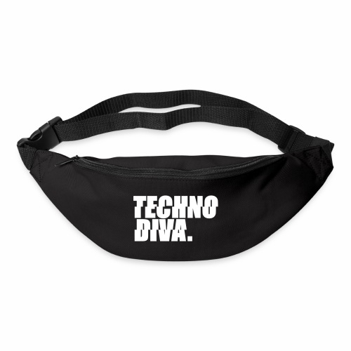 Techno DlVA Rave Princess Hard Techno Kind Music - Gürteltasche