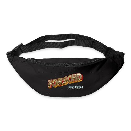 Forschd - Perle Badens - Vintage-Logo mit Luftbild - Gürteltasche