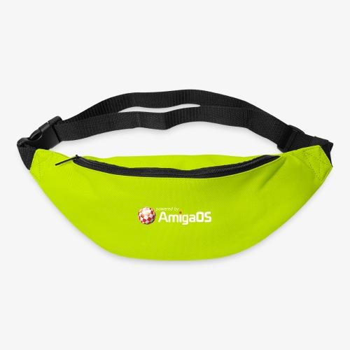 PoweredByAmigaOS white - Bum bag